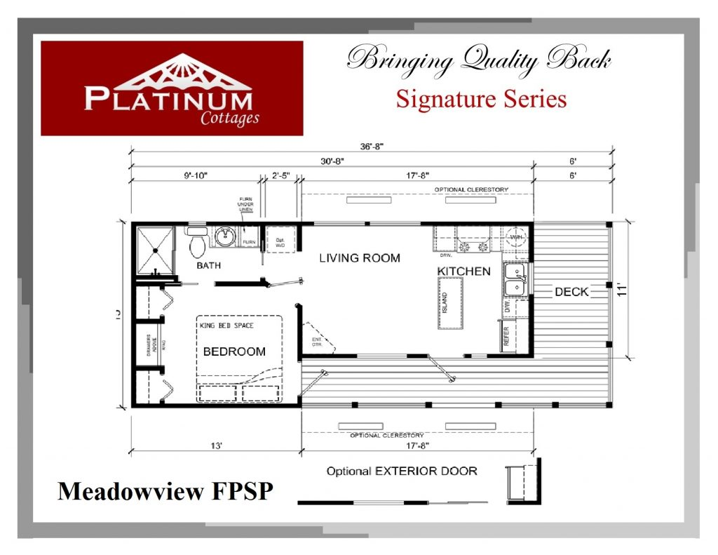 Platinum Meadowview Architectural Plan